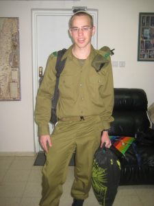 My son Dovi in uniform.