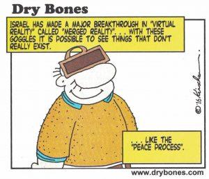 peace process - dry bones